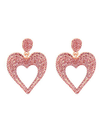 pink pave hearts