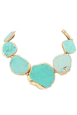 west palm statement necklace