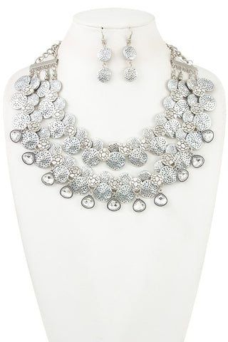 goddess statement collar