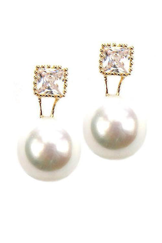 cubic accented pearls