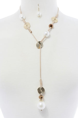 crafted in pearls lariat drop