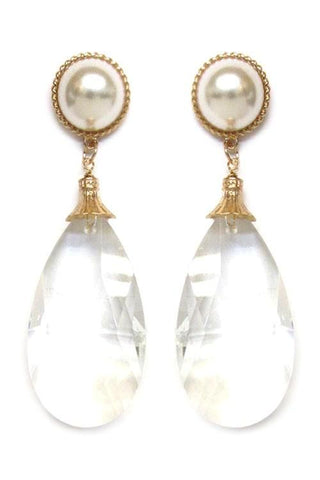 lucite pearl drops