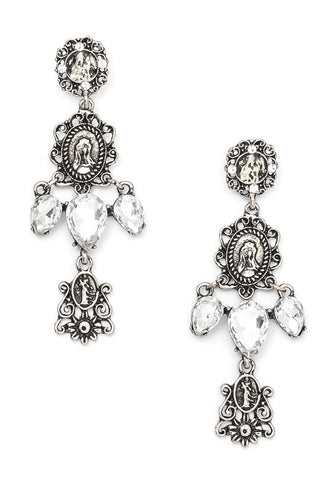 victorian crystal dangles