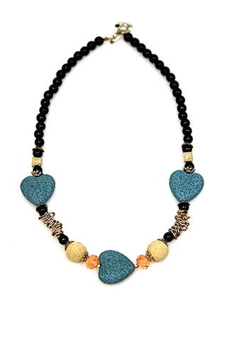turquoise stone heart