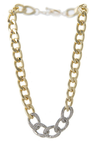 luxury pave chain