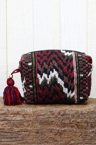 velveteen make up bag