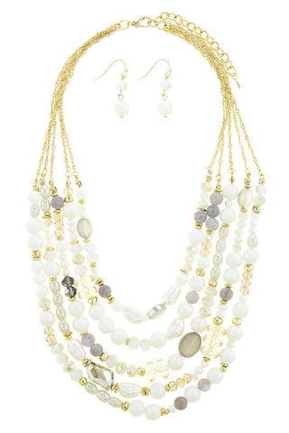layered in pearls set