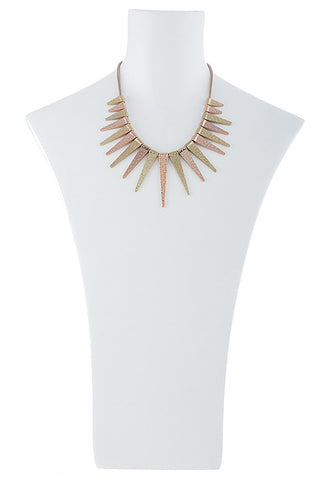 triangle taper necklace