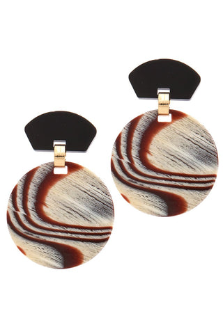 onyx marbled medallions