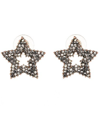 crystal pave star cut outs