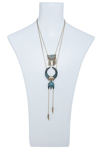 crafted in marfa turquoise necklace
