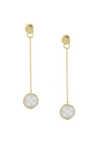 dainty shell accent drops