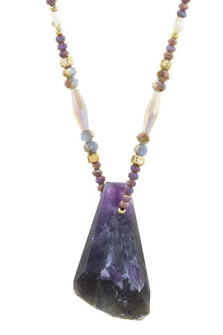 long amethyst drop