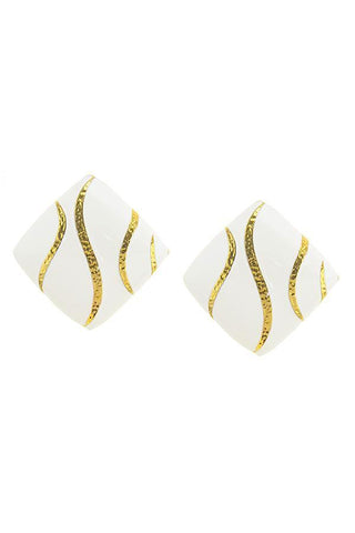 gold foiled studs