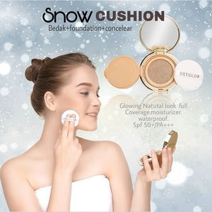 SNOW CUSHION OXY GLOW - Natural Glow