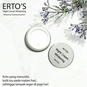 ERTO'S Night Cream Whitening