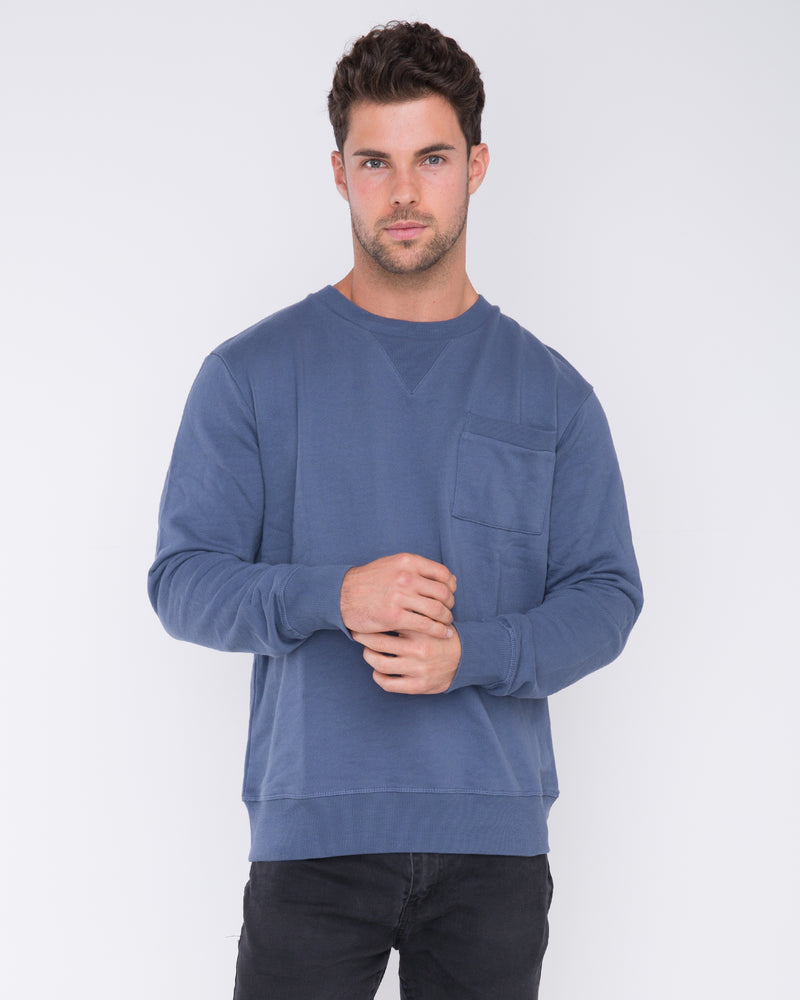 Schoolyard Blue Jumper