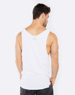 Beach Party White Singlet