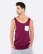 Rip My Pocket Maroon Singlet