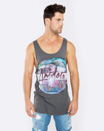 Antidote Dark Grey Singlet
