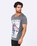 Today Warriors Dark Grey Tee