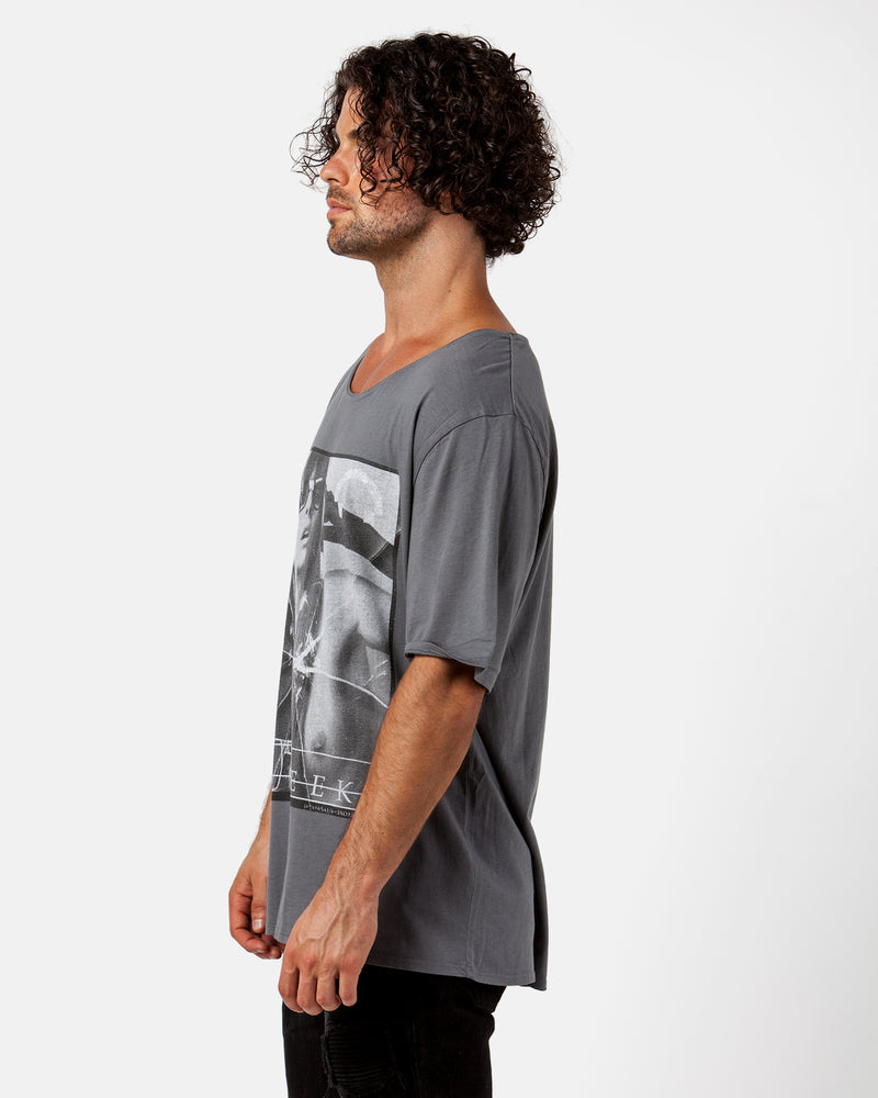Hot Geek Dark Grey Tee