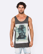 Moment of Truth Dark Grey Singlet