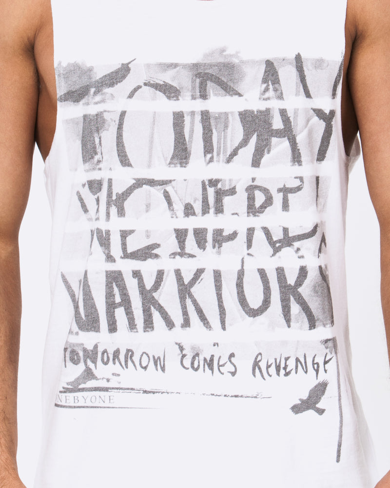 Tomorrow Comes White Singlet