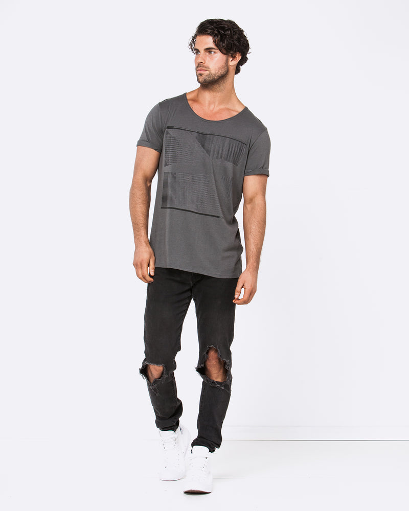 Digital Affair Dark Grey Tee