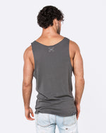 Hopeful Dark Grey Singlet
