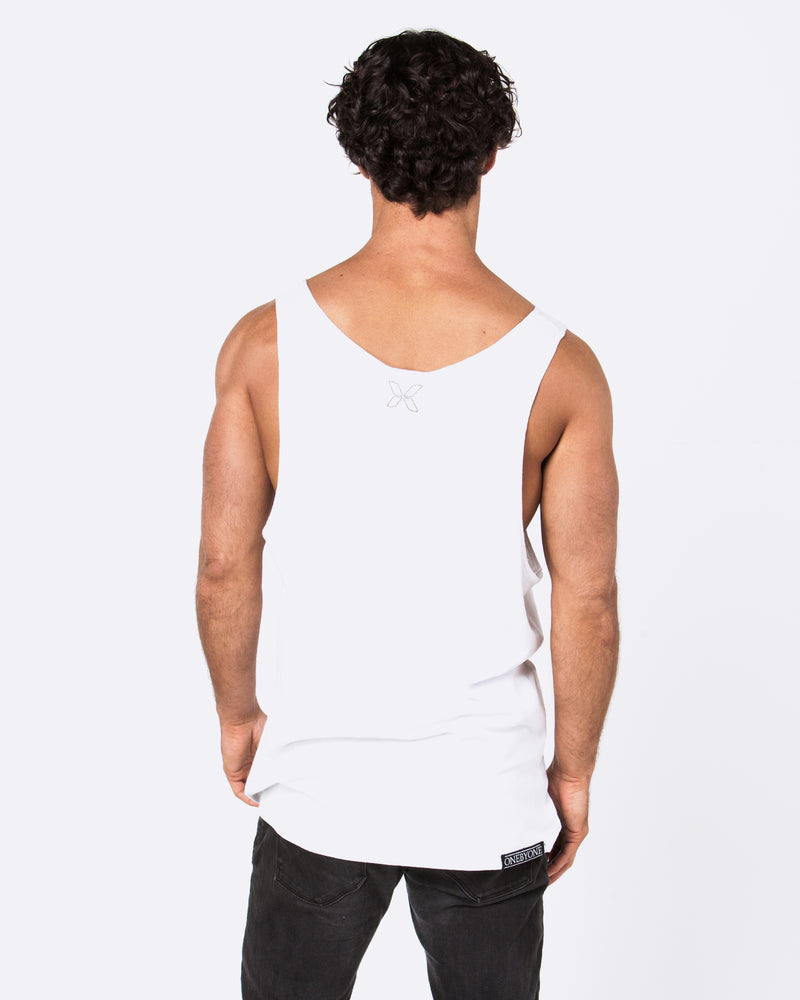 Hopeful White Singlet