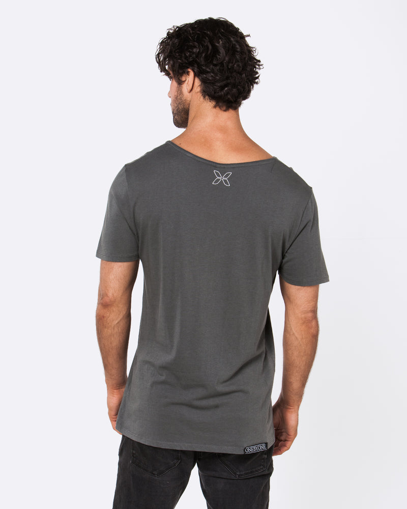 Dark to Light Dark Grey Tee