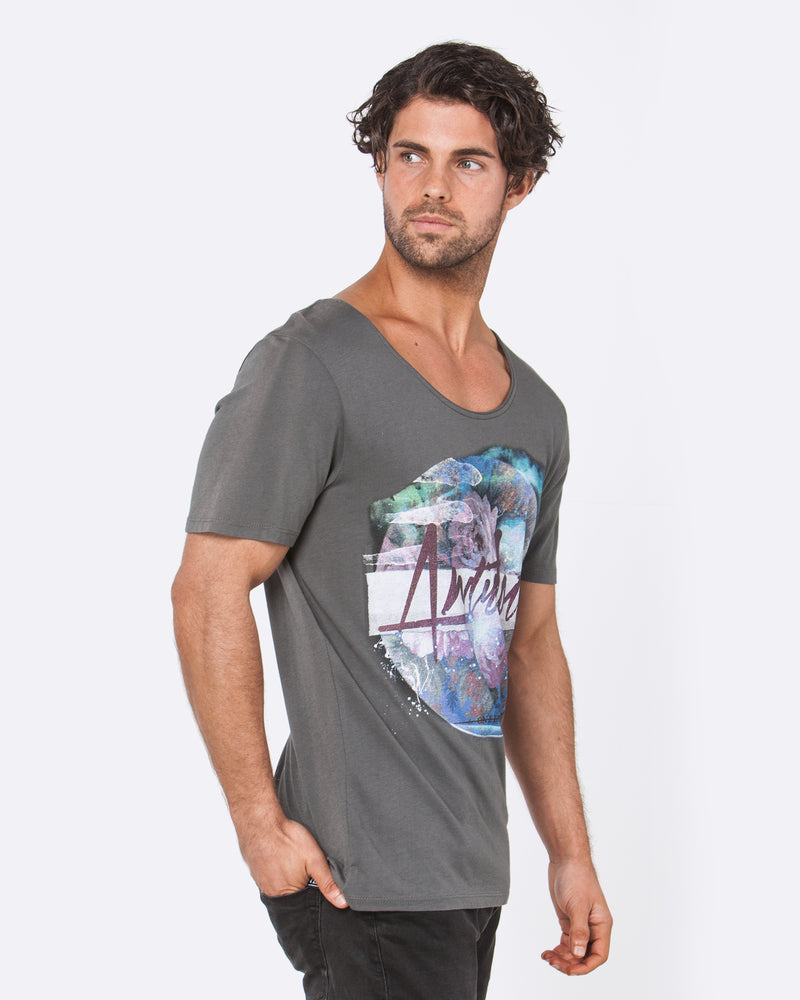 Antidote Dark Grey Tee