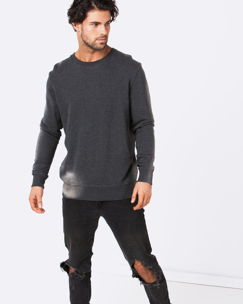Blank Dark Grey Jumper