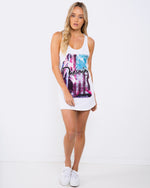Dreaming Emotion White Singlet