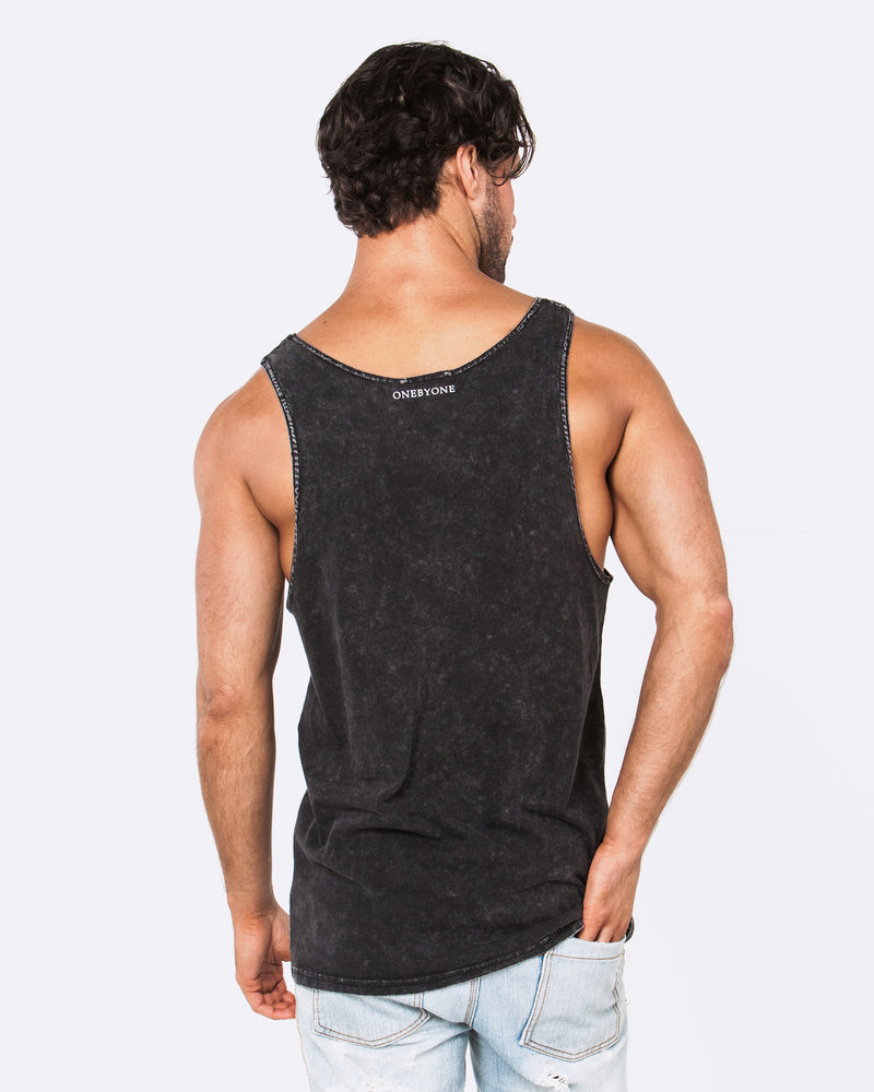 Cross of Faith Acid Black Singlet
