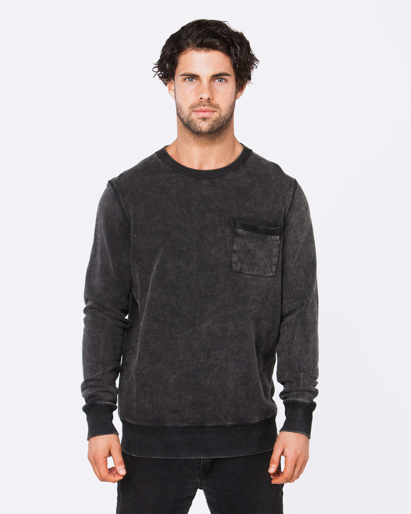 Schoolyard Acid Black Jumper