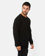 Schoolyard Black Jumper
