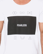 Fear the Logo White Tee