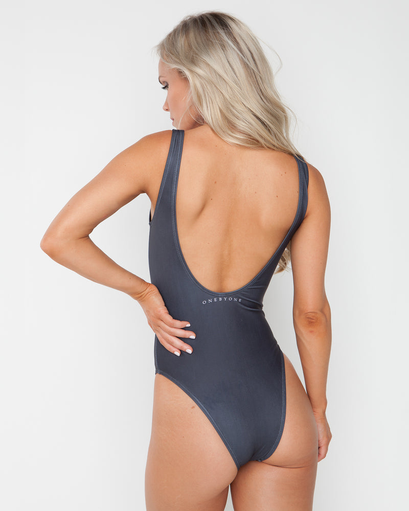 Crown Black Swimsuit