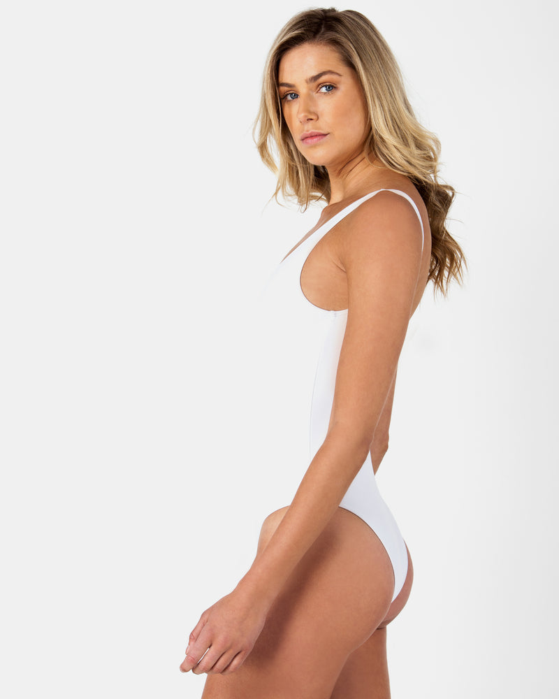 Blank White Swimsuit