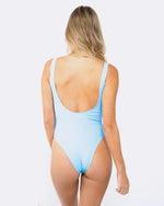 Blank Sky Blue Swimsuit