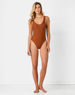 Blank Bronze Swimsuit