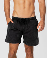 Dry Ice Acid Black Shorts