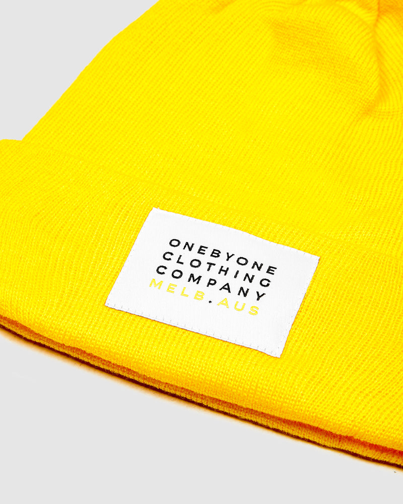 Bumble Yellow Beanie