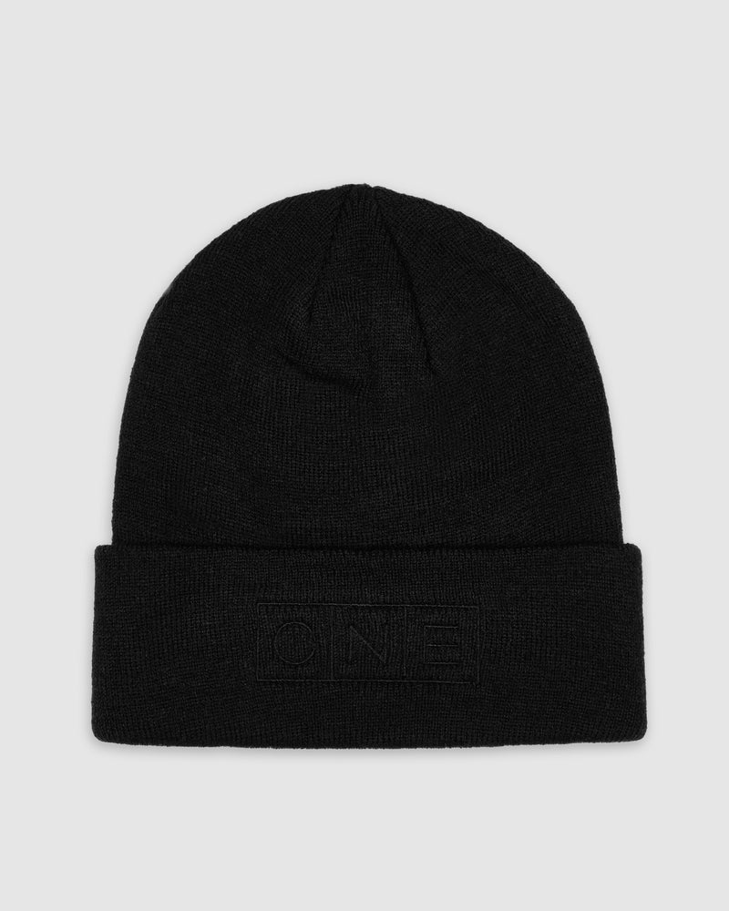 Constellation Black Beanie