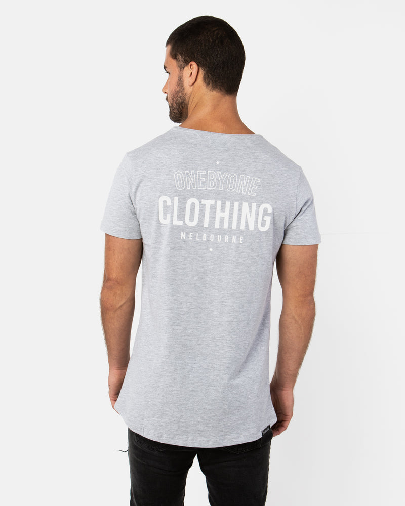 Roots Marble Grey Tee