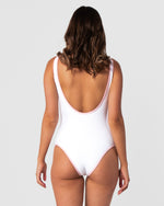 Pura Vida White Swimsuit