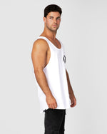 Backstage White Singlet