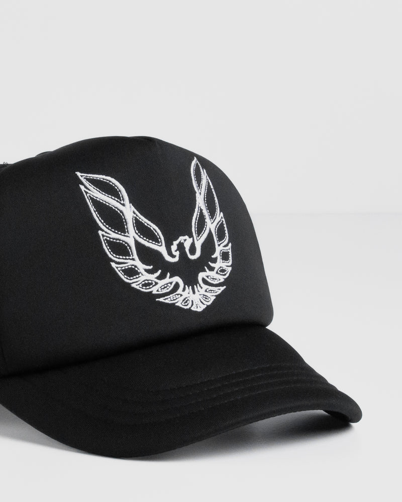 Firebird Black Trucker